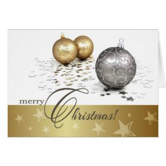 Felices Navidad. Tarjeta de Navidad adaptable