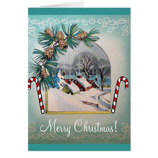 ¡Felices Navidad! Tarjeta Pequeña