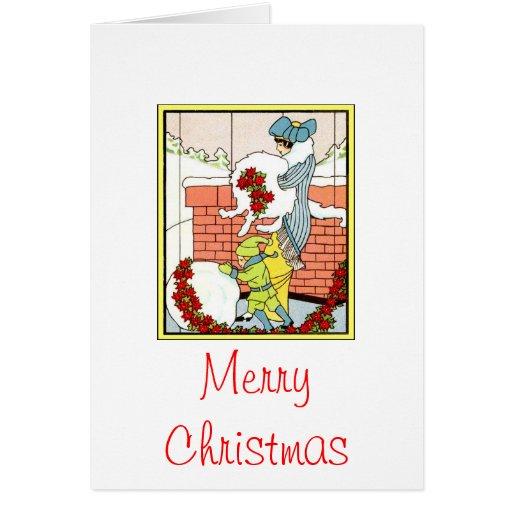 Felices Navidad Tarjeta Pequeña