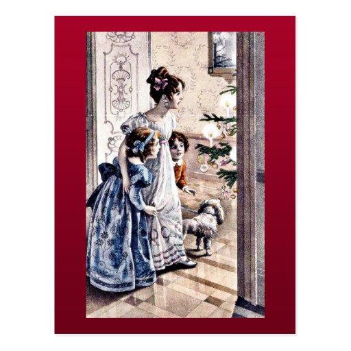 Felices Navidad Tarjeta Postal