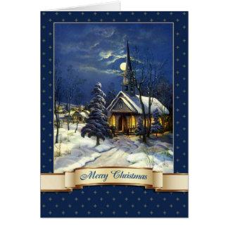 Felices Navidad. Tarjetas de felicitación de la ig