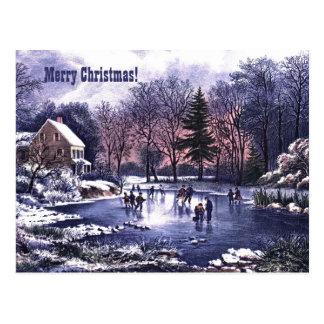 Felices Navidad. Tarjetas de Navidad adaptables Tarjeta Postal