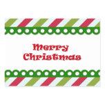 Felices Navidad Tarjetas De Visita