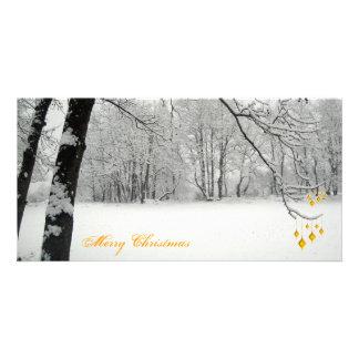 Felices Navidad Tarjetas Fotográficas Personalizadas