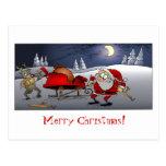 ¡Felices Navidad! Tarjetas Postales