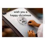 felices Navidad Tarjeton