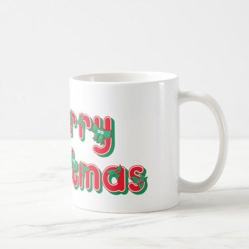 Felices Navidad Taza Clásica
