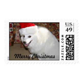 Felices Navidad Timbre Postal