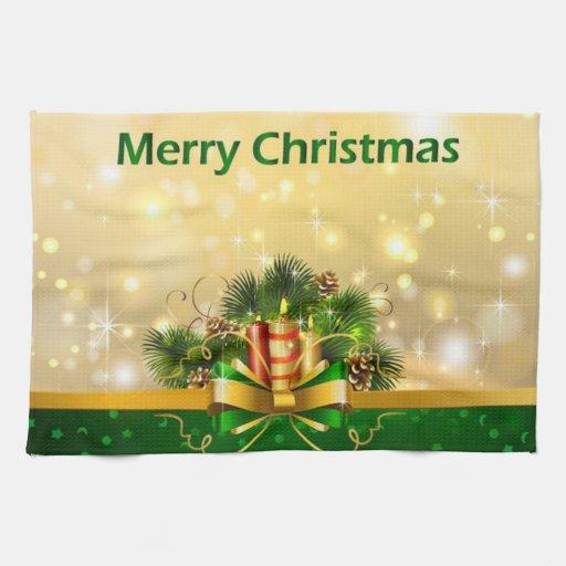 Felices Navidad Toallas De Mano