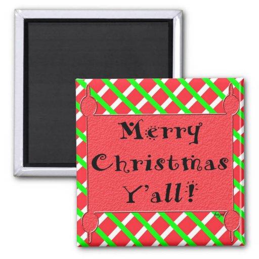 Felices Navidad usted imán
