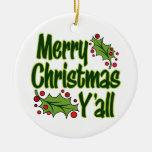 Felices Navidad usted Ornamento De Reyes Magos