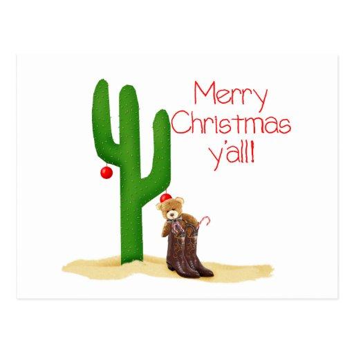 Felices Navidad usted Tarjetas Postales