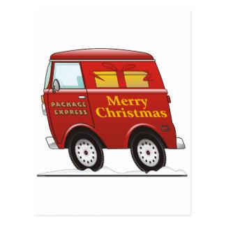 Felices Navidad Van Red Postales