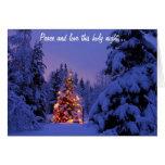 Felices Navidad y Feliz Año Nuevo Tarjetón
