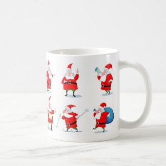 Felices Navidad y Feliz Año Nuevo Tazas