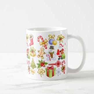 Felices Navidad y Feliz Año Nuevo Taza