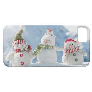 Felices Navidad y muñecos de nieve de la Feliz Año Funda Para iPhone SE/5/5s