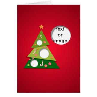 Felices Navidad y newyear feliz Tarjeta De Felicitación