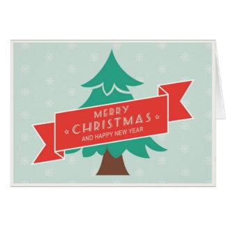 Felices Navidad y tarjetas de felicitación de la F