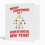 ¡Felices Navidad y un Año Nuevo genealógico!