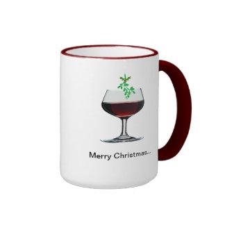 ¡Felices Navidad - y un feliz Año Nuevo también!! Taza De Café