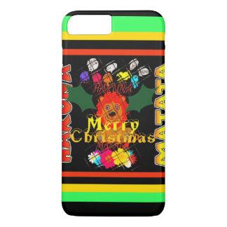 Felices Navidad y una Feliz Año Nuevo Funda iPhone 7 Plus