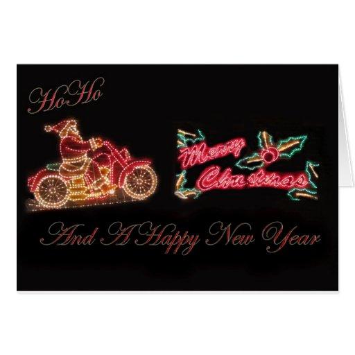 Felices Navidad y una Feliz Año Nuevo Tarjeta De Felicitación
