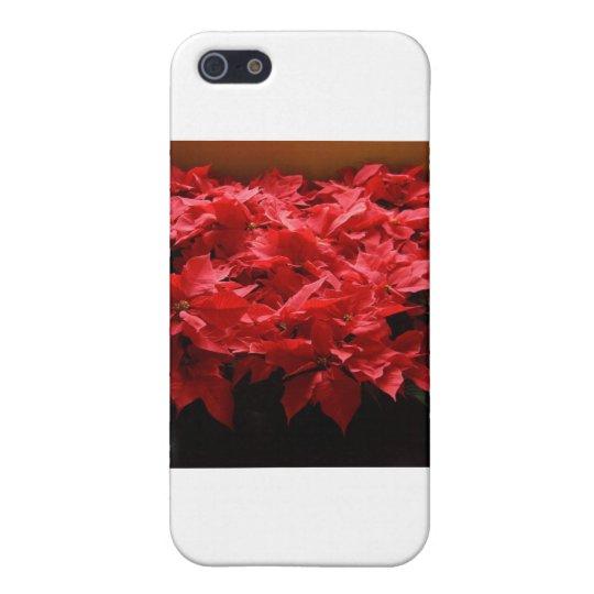 ¡Felices Navidad, Yall! Poinsettias iPhone 5 Funda