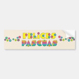 Felices Pascuas Bumper Stickers