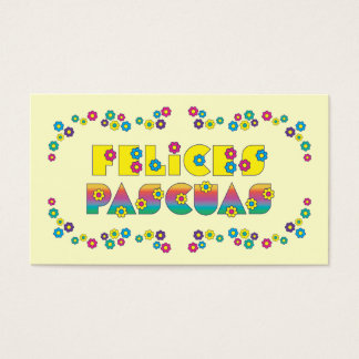 Felices Pascuas Business Card