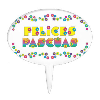 Felices Pascuas Cake Topper