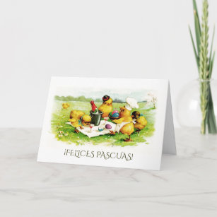 Easter greetings in spanish gifts on zazzle easter greeting cards in spanish m4hsunfo