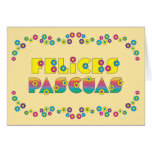 Felices Pascuas Greeting Card