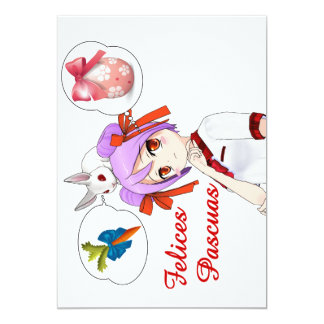 Felices Pascuas (Personalizable) Card