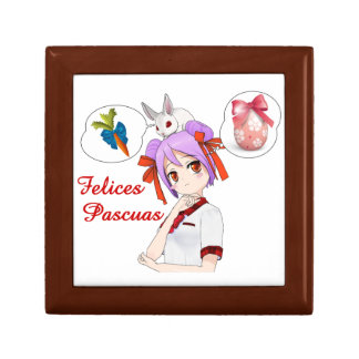 Felices Pascuas (Personalizable) Jewelry Box