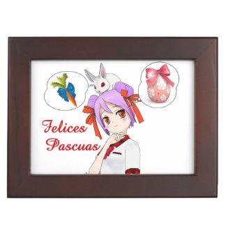 Felices Pascuas (Personalizable) Memory Box
