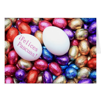 Felices Pascuas spanish Happy Easter Card