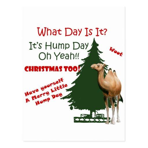 Felices pequeños Navidad del día de chepa Postales