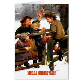 Felices postales del personalizado de la pintura tarjeta de felicitación