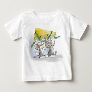 Felices ratones Mic y camiseta del niño del mac Playera
