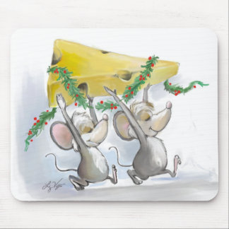 Felices ratones Mic y mac Mousepad
