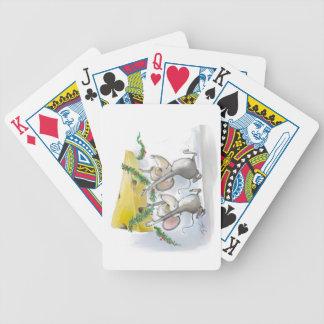 Felices ratones Mic y naipes del mac Barajas De Cartas