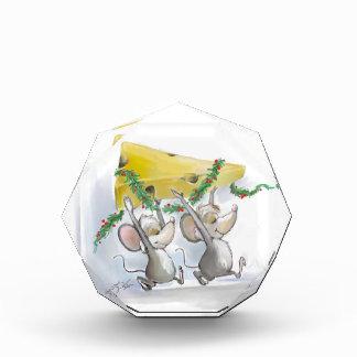 Felices ratones Mic y premio del día de fiesta del