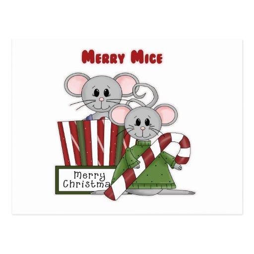 Felices ratones tarjetas postales