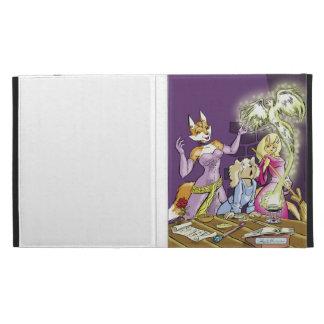 Felicia And The Sorceress' Apprentice iPad Folio Case