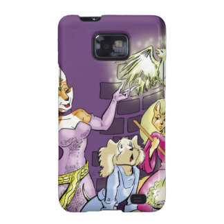 Felicia And The Sorceress' Apprentice Samsung Galaxy SII Case