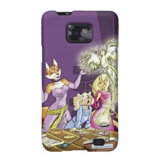 Felicia And The Sorceress' Apprentice Samsung Galaxy S2 Case