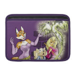 Felicia And The Sorceress' Apprentice MacBook Air Sleeve