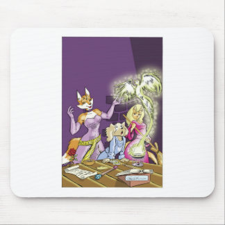 Felicia And The Sorceress' Apprentice Mouse Pad