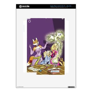 Felicia And The Sorceress' Apprentice iPad 3 Skin